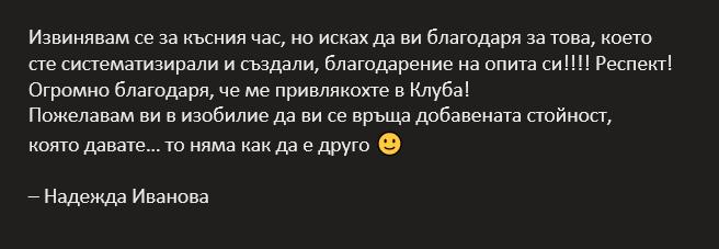 Надежда Иванова